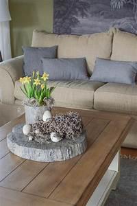 Sideboard Mit Tischfunktion : gedecktes oster arrangement f r tisch und sideboard ~ Michelbontemps.com Haus und Dekorationen