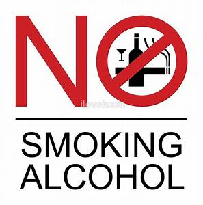 """NO Smoking Alcohol Sign"" Posters by iloveisaan 