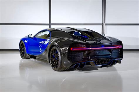 The two big lumps of bumper can be removed by the owners but bugatti has to mount these on the cars when they are shipped to the dealer or directly to the owner. Power of Blue - New Bugatti Chiron Sport Headed to Qatar - GTspirit