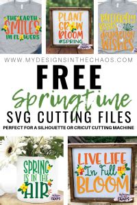 Free vectors and icons in svg format. Free Spring SVG Files - My Designs In the Chaos