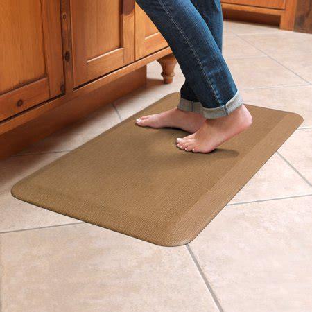 kitchen floor mats walmart newlife by gelpro anti fatigue comfort mat 20x32