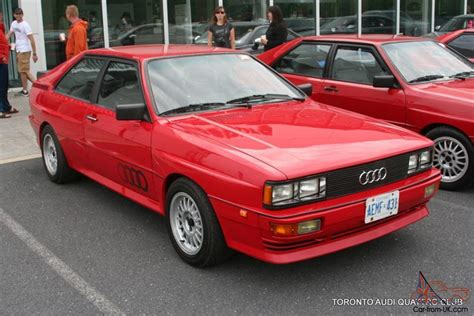 1984 Audi Urquattro Quattro Rally Sport 20vt Aan 6 Speed