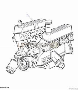 Engine Stripped - V8 3 5l Carburetter