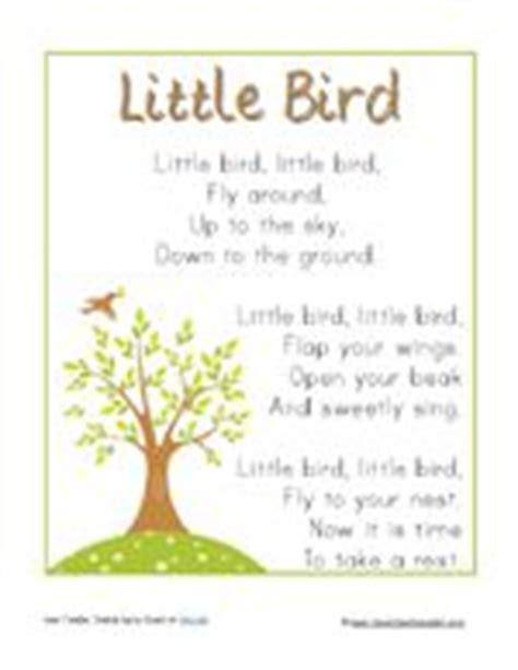 preschool bird songs and fingerplays 1000 images about preschool birds on 689