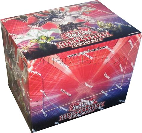 April 2021 cd keys list). Yu-Gi-Oh: Hero Strike Structure Deck Box | Potomac Distribution