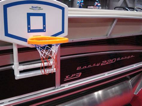 Pontoon Basketball Hoop by 24 Best Project Boat Images On Pontoon Boats