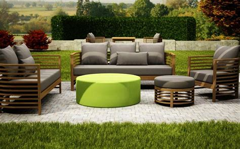 teak outdoor furniture beautiful  durable couch