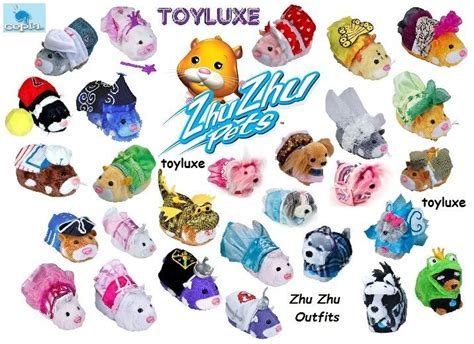 Zhu Zhu Pets Hamster Stylin Outfit Costume Clothes