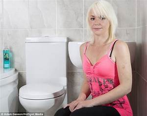 Mother of one is so terrified of toilets she runs away for Phobia of going to the bathroom