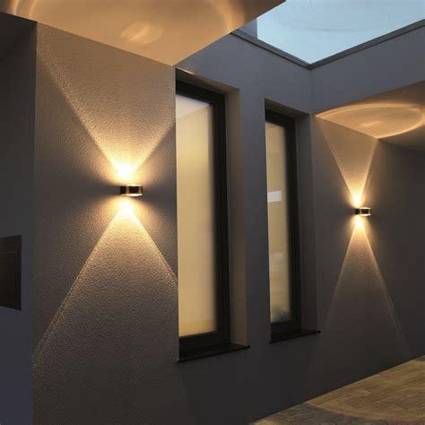 up and leuchten aussen led lcd up au 223 en wandleuchte edelstahl und lupenglas 027 deutsche leuchten de