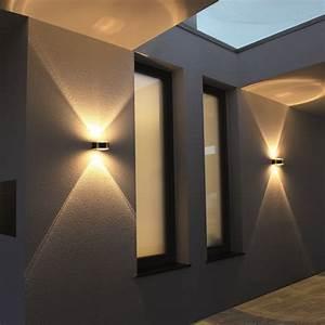 Wandleuchte Up Down : up and down lampen aussen bewegungsmelder te04 hitoiro ~ Whattoseeinmadrid.com Haus und Dekorationen