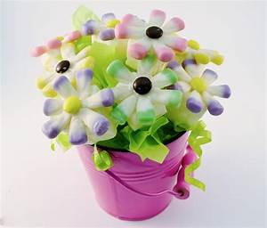 Daisy Candy Bouquet Instructions