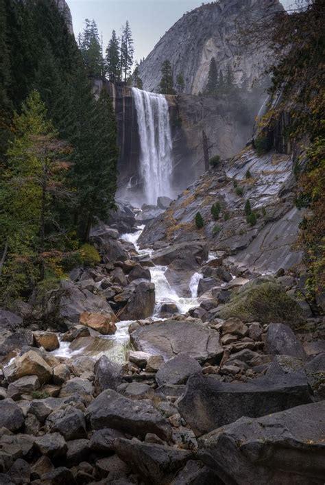Vernal Fall Yosemite National Park Hiking