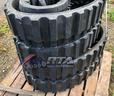 rubber tracks  takeuchi tl tl tl xx multi bar tread ebay