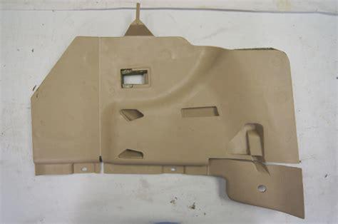 chevy corvette   dash  panel tan