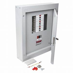 Distribution Board Complete With Lockable Door And Key