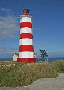 sambro island lighthouse scotia canada at