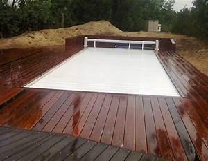 achat et pose d39une terrasse bois ipe autour piscine a With pose terrasse bois autour piscine