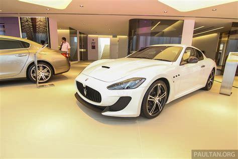 Ferrari And Maserati Showroom Refurbished