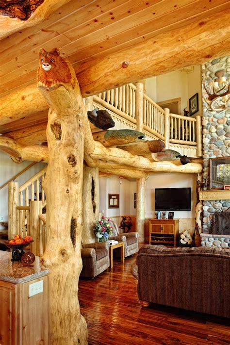 Interiors | Yellowstone Log Homes