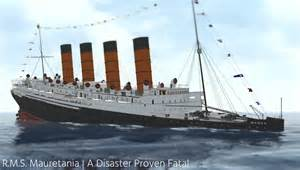 Sinking Simulator by R M S Mauretania A Disaster Proven Fatal Youtube