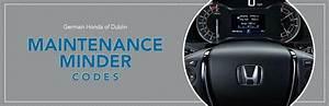 Honda Hrv Maintenance Codes