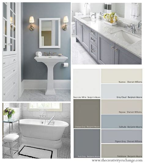 bathroom color schemes ideas 17 best ideas about small bathrooms on small