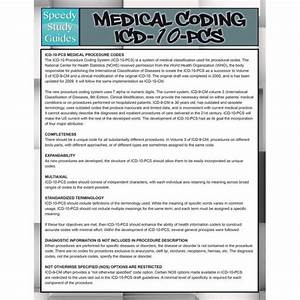 Medical Coding Icd 10 Pcs Speedy Study Guides