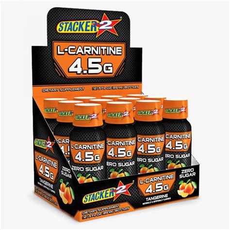 Stacker2 - L-Carnitine Energy SHOT - TRU·FIT