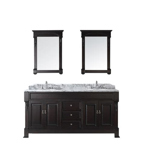 72 inch double sink vanity top 72 inch double sink vanity with dark walnut finish and