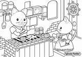 Sylvanian Families Restaurant Bord Coloriage Mer Coloring Drawing Colorir Colouring Coloriages Sheets Kitty Animal Ausmalen Malvorlagen Desenhos Ausmalbilder Luxueux Dans sketch template