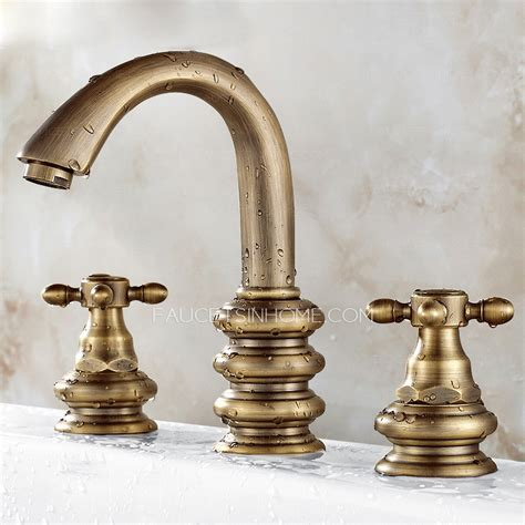 led kitchen faucets vintage brushed copper three bathroom sink faucet