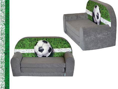canapé enfants mini canapé lit enfant foottballfauteuils poufs matelas