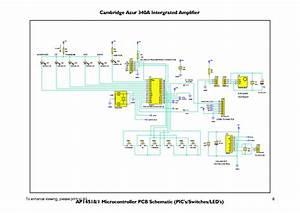 Cambridge Audio 340a Sch Service Manual Download  Schematics  Eeprom  Repair Info For