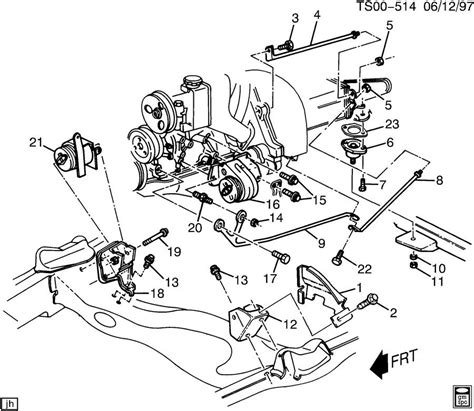 1994 Chevy S10 V6 Engine Diagram by 1984 S10 Engine Parts Downloaddescargar