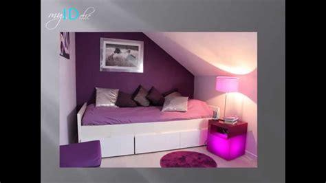 déco chambre d 39 ado fille violette