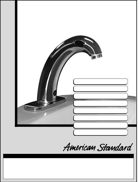 American Standard 6058.102, 6058.105, CERATRONIC Proximity