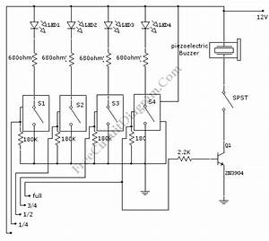 Water Level Sensor  U2013 Circuit Wiring Diagrams