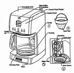 Kenmore Elite Coffeemaker Parts