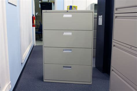 hon 4 drawer lateral file cabinet used used hon file cabinet 4 drawer lateral ofw pittsburgh