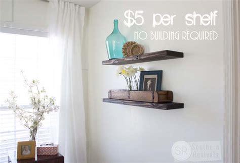 cheap bathroom ideas makeover easy budget friendly diy floating shelves