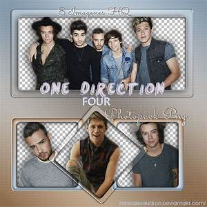 One Direction - Four || PHOTOPACK || PNG || by ...