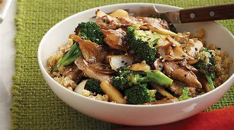 comment cuisiner le brocoli saut 233 de porc au brocoli et aux chignons iga recettes simple rapide economique