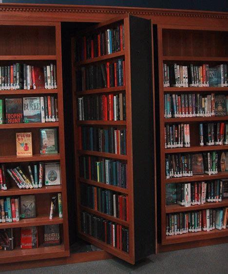 Passage Bookcase by 10 Historical Secret Rooms Mysterious Passages