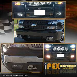 2003 Avalanche Clear Bumper Fog Light