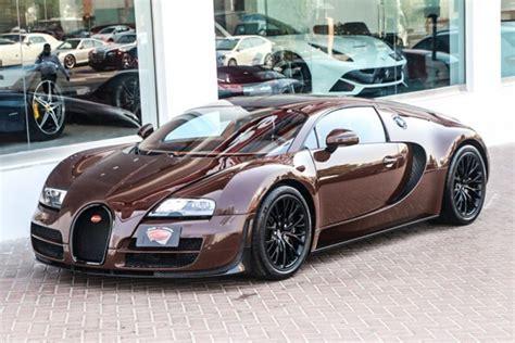Unique Brown Bugatti Veyron Super Sport For Sale In Uae