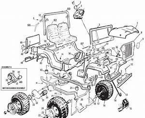 Power Wheels Jeep 1989 Parts