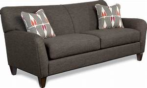 Premier Contemporary Sofa With Tapered Wood Legs By La Z