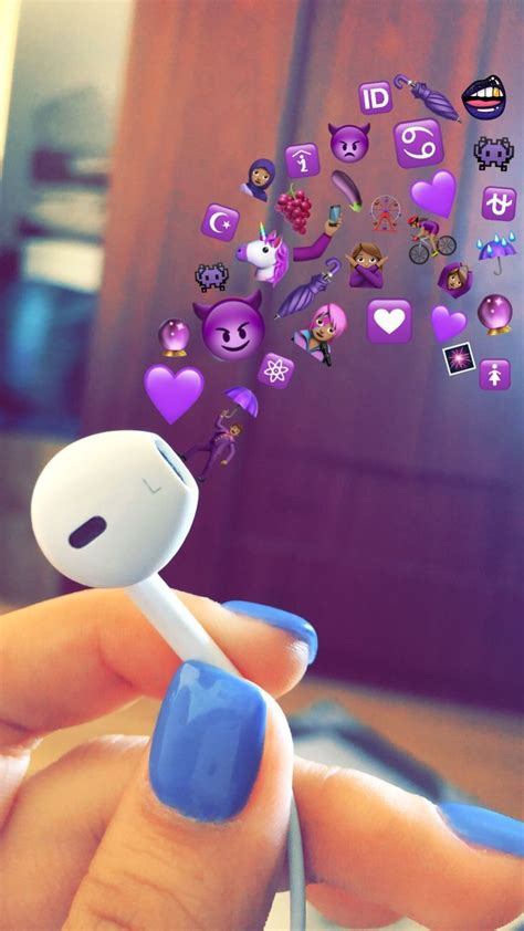 Aesthetic Headphone Iphone Emoji Aesthetic Wallpaper by For More Pins Like This Follow Berry Xx