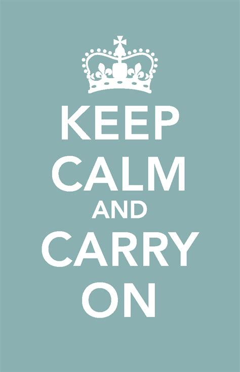 Keep Calm And (fill In The Blank
